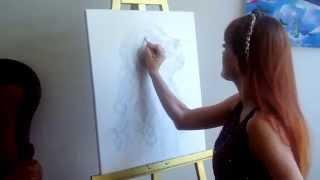Как рисовать собаку кокер спаниель, карандашом. Cocker Spaniel speed art