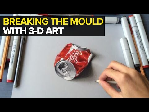 Mumbai Boy's Mind-Boggling Art