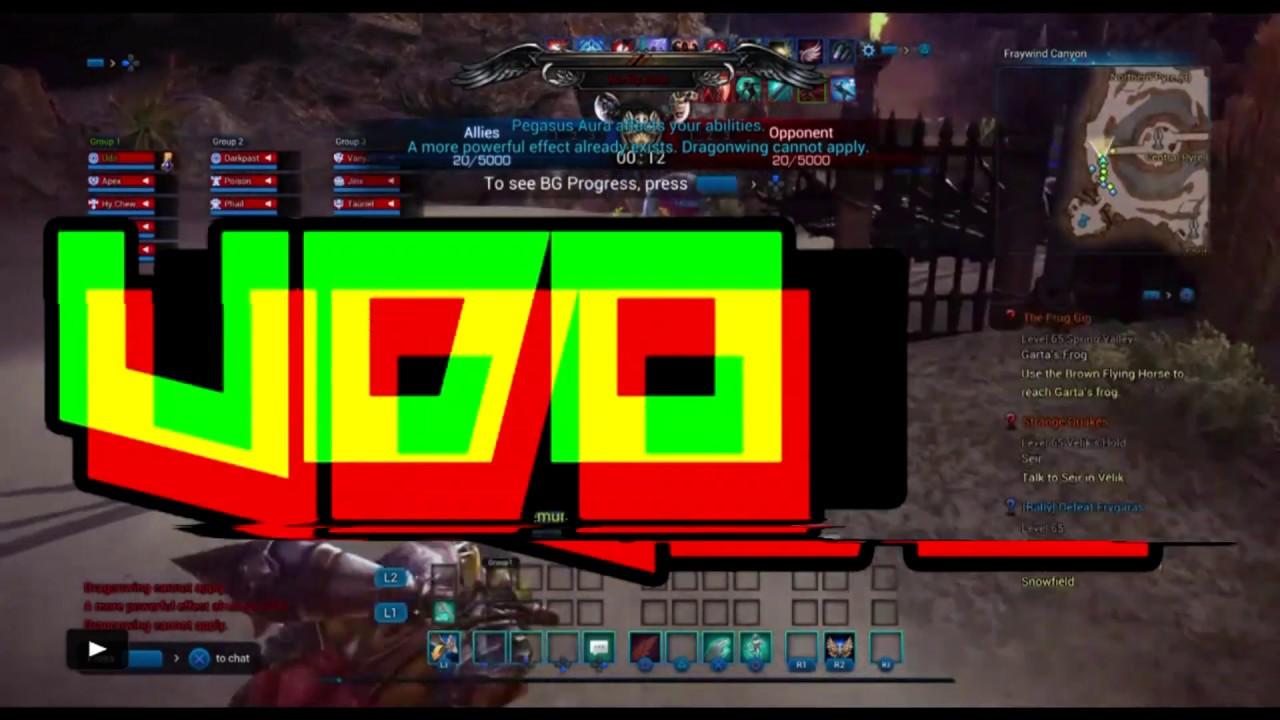 Tera [PS4]  Last Time Playing Gunner Until Valk Drop