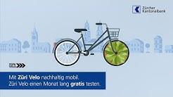 Züri Velo - eine runde Sache: Jetzt gratis testen