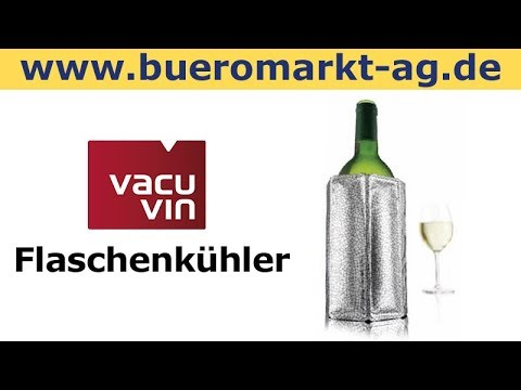 vacu vin flaschenk hler k hlmanschette weink hler sektk hler bierk hler youtube. Black Bedroom Furniture Sets. Home Design Ideas