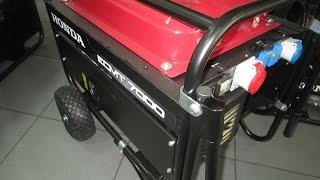 Ремонт и обслуживание Хонда/Honda ECMT 7000 - трехфазный бензиновый генератор