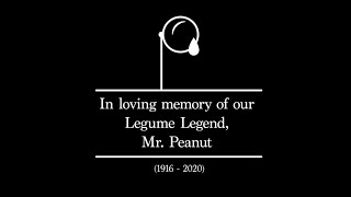 Mr. Peanut Memoriam Video Tribute
