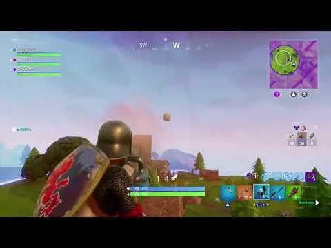 Craziest Ending To A Fortnite Win!!!!!!