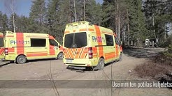 Suuronnettomuusharjoitus Lahti 2014