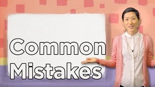 Uki Uki Japanese Lesson 6 - Common Mistakes 1