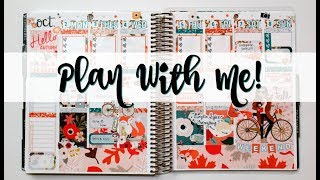 """Plan With Me! ft. Glam Planner """"Hello Fall"""""""
