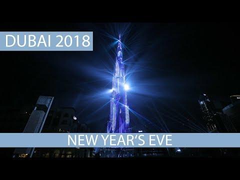 New years eve Dubai 2018 - Burj Khalifa