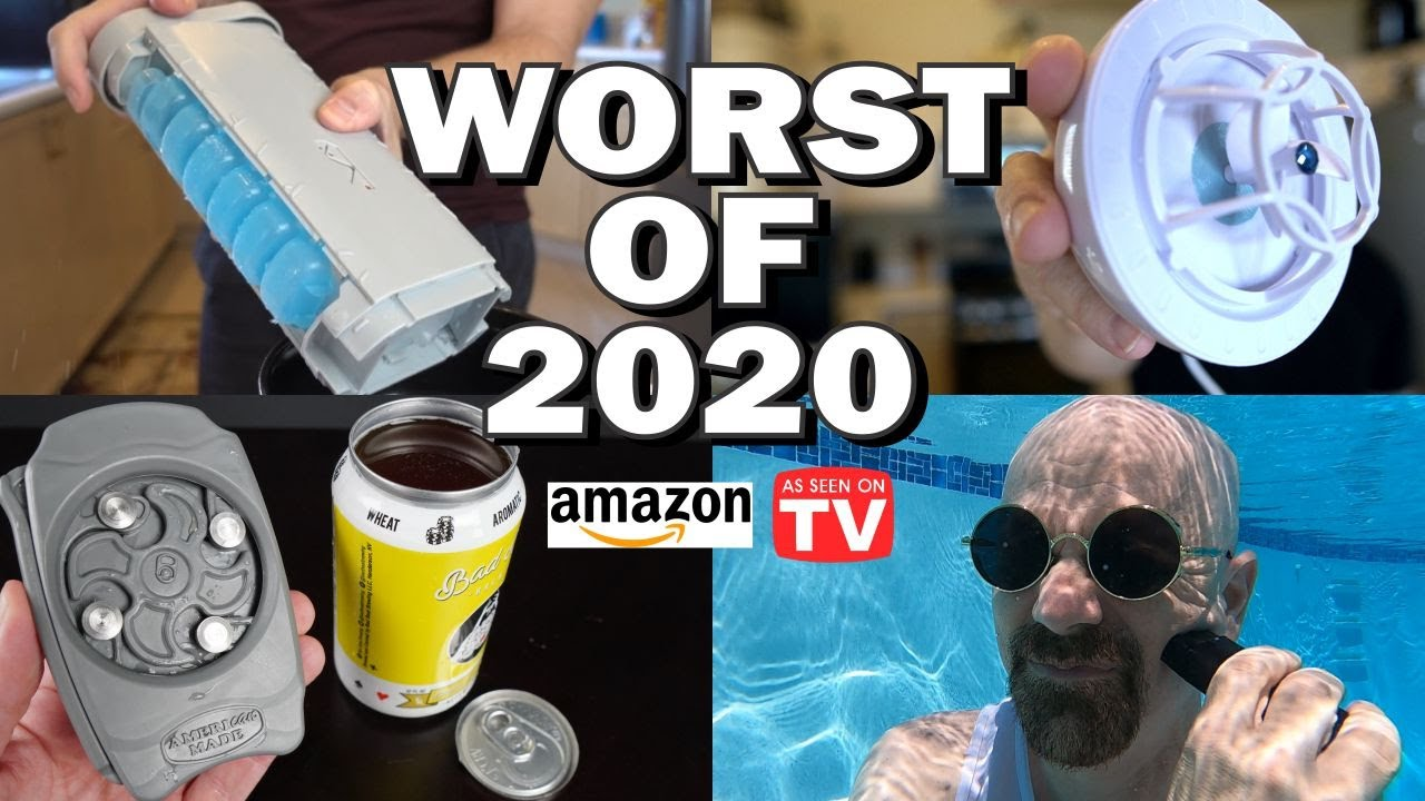 Worst of 2020: 10 Worst As Seen on TV & Amazon Products!