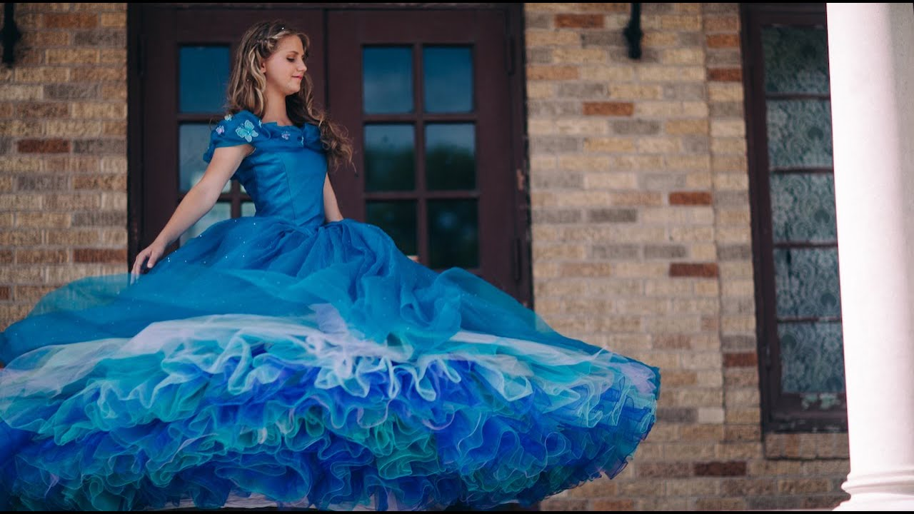 Princess Ella\'s Ballgown - Costume Recreation - Cinderella 2015 ...