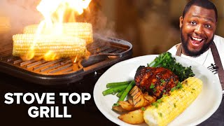 How To BBQ on a Stove Top Grill • Tasty