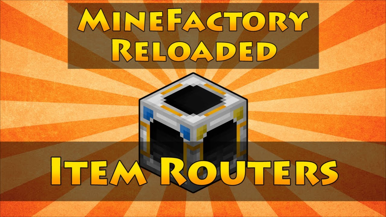 Item Router - Feed The Beast Wiki