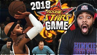 NBA 2K18 MyCAREER - 2018 RISING STARS GAME! Lonzo Ball Only Had 2 Points Ep. 18 (PS4 Pro Gameplay)