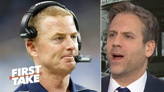 'No cowards allowed on my team!' - Max Kellerman dislikes Jason Garrett to the Giants | First Take