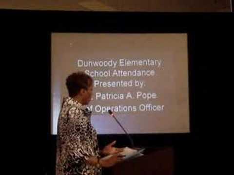 DeKalb Board of Ed - Dunwoody Elementary School Attendance