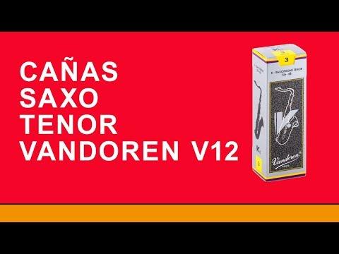 CAÑAS SAXO TENOR VANDOREN V12 - MUSICAL ACCESORIOS
