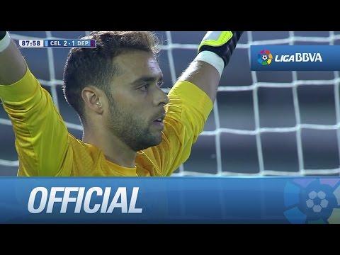 Sergio Álvarez para el penalti tirado por Medunjanin - HD