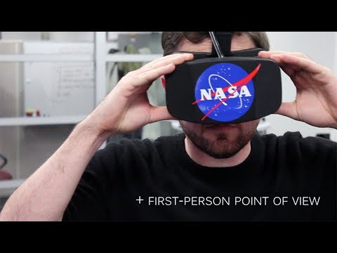 NASA uses Kinect, Oculus Rift to control robot arm
