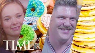 What Olympic Athletes Eat On Their Cheat Days: Adam Rippon, Sarah Hendrickson Love Ice Cream | TIME
