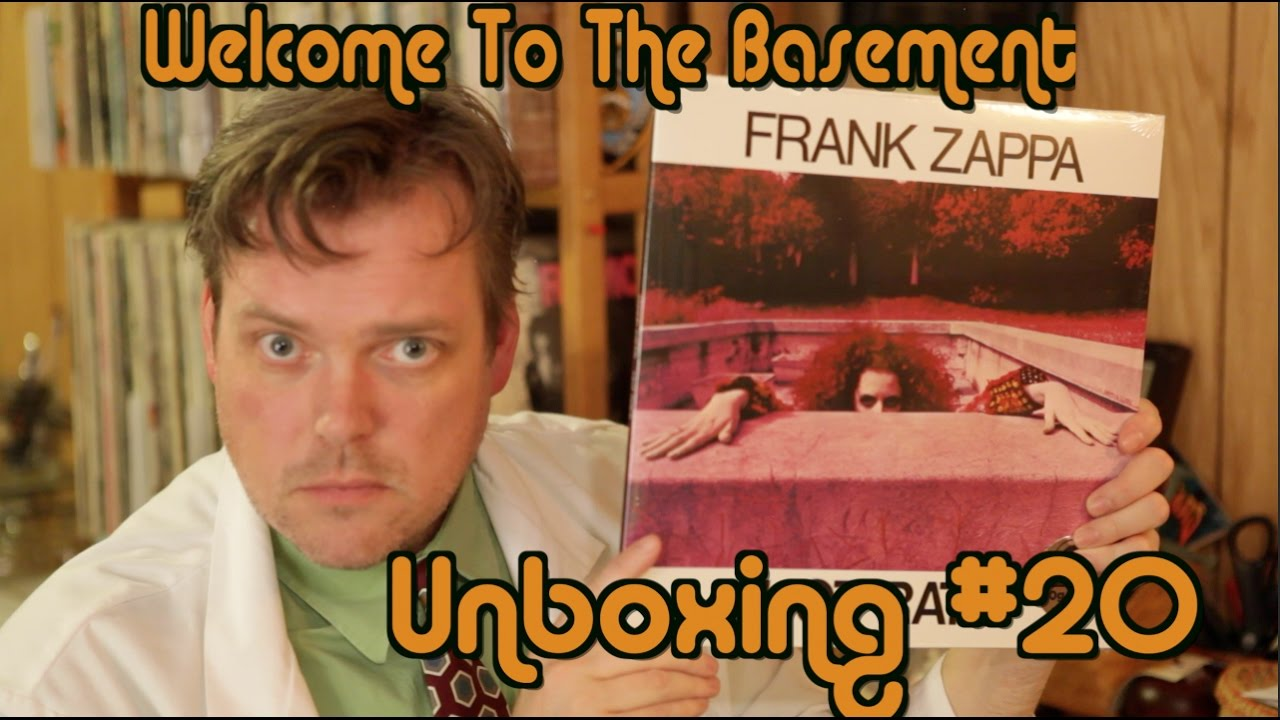 frank zappa vinyl unboxing welcome to the basement youtube