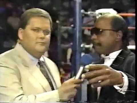 WW 5/20/89- Teddy Long Inv- Reed vs Cougar Jay- Pedicino Knows