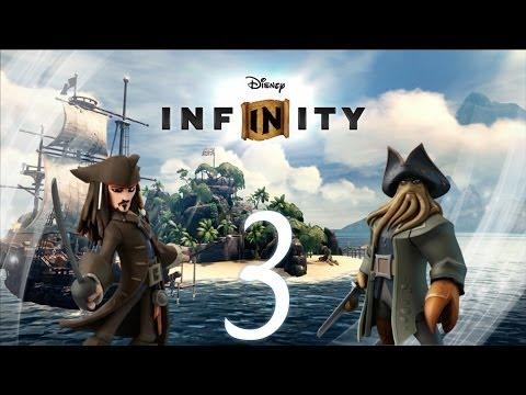 Прохождение Disney Infinity Пираты Часть 3 Головоломка Кракена