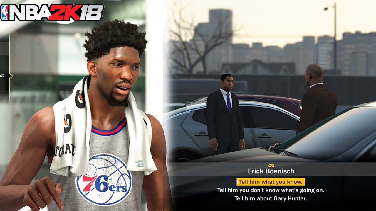 c428e79eb4c NBA 2K18 MyLEAGUE/ MyGM! BRAND NEW STORY MODE CUTSCENES AND MORE ...