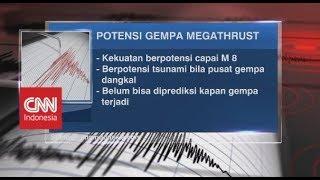 Mengenal Potensi Ancaman Gempa Megathrust