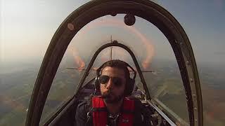 Antoine flying the YAK 52
