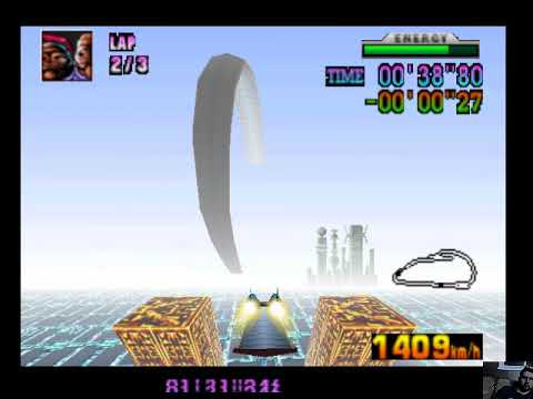 F-Zero X Expansion Kit Sector Beta Beating Staff Ghost
