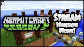 Minecraft Hermitcraft   Working on my MANSION!   Let