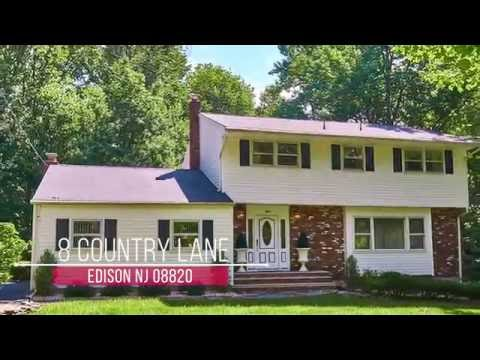 Video Tour 8 Country Lane, Edison, NJ 08820