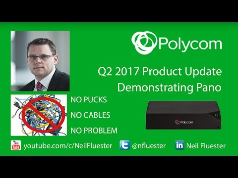 Polycom Pano in the real world - Used to present 2017 Product Update