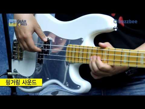 Squier 베이스 Chris Aiken Precision Bass