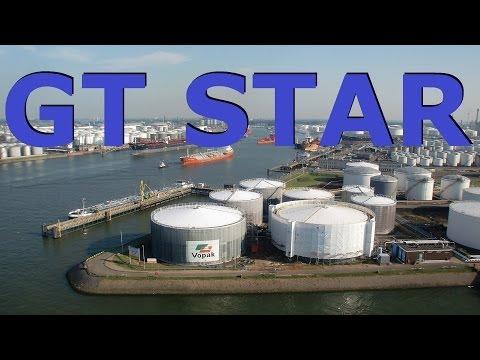 Time Lapse: Chemical tanker from Botlek to Vlaardingen.