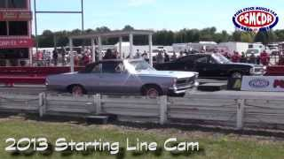 2013 Pure Stock Drags Starting Line round 1