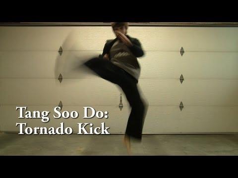 Tang Soo Do Advanced Kicks: Tornado Kick Tutorial