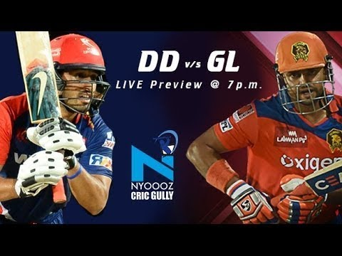 IPL T20: Delhi Daredevils vs Gujarat Lions match preview on Cric Gully