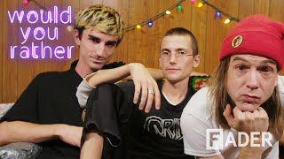 Gambar cover DIIV are here for your flat earth theories in Would You Rather