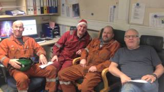 Oil Rig Christmas Song