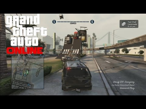 GTA V: Online - BUSTED! crook: GTAmissions