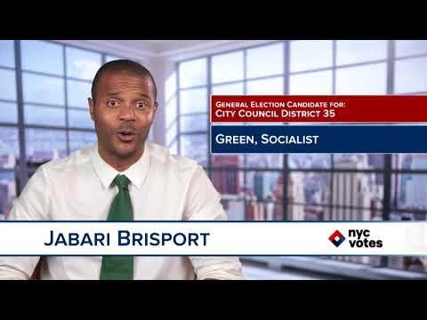 Jabari Brisport: Candidate for Council District 35