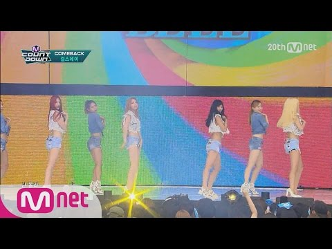 Girl`s Day(걸스데이) - 'Ring My Bell' M COUNTDOWN 150709 COMEBACK Stage Ep.432