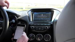 How to Sync iPhone To a 2014 Hyundai Genesis Coupe Via Bluetooth | Morrie