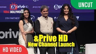 &Prive HD English New Channel Launch | Vidya Balan, Konkana Sen, Vishal Vishal Bhardwaj