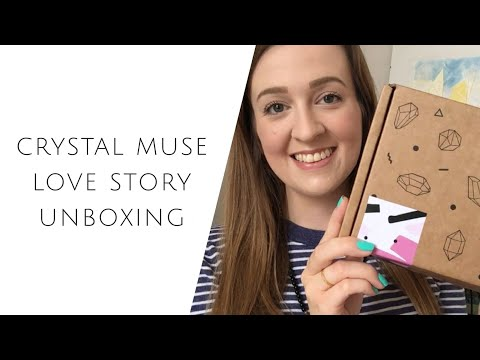 Crystal Muse Love Story Unboxing | Self-love + crystal grids