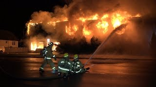 QIC Furniture Store Fire Imperial St. Burnaby BC Canada
