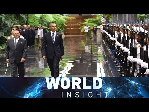 World Insight— Obama in Cuba; Tensions in South China Sea 03/23/2016