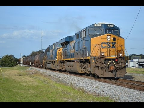 [HD] Folkston - Waycross, GA Railfanning 3/12/16