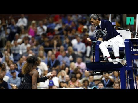US Open: Serena Williams accuse l'arbitre de  sexisme  apr猫s sa d茅faite pol茅mique en finale